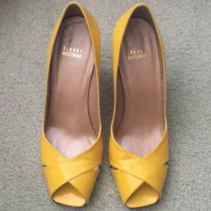 Stuart Weitzman Peep Toe Heels Shoes 10